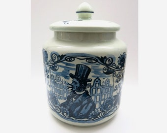 Humidor Pottery by Royal Goedewagen Holland