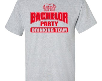 BACHELOR PARTY SHIRTS. Bachelor Party Gift. Bachelor Shirt. Groom Shirt. Best Man Shirt. Groomsman Shirts. Team Groom Shirts. Wedding Shirts