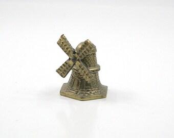 Vintage Brass Windmill Bell