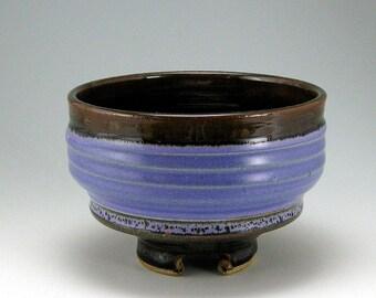 Matcha Tea Bowl, Serving Bowl, hand-thrown stoneware bowl (#21)