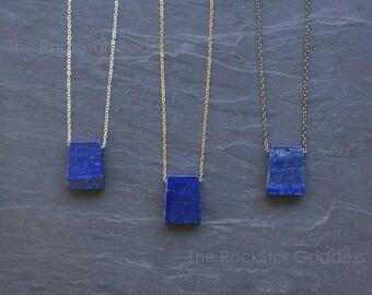 Lapis Lazuli / Blue Lapis / Lapis Lazuli Necklace / Lapis Necklace / Lapis Pendant / Lapis Lazuli Jewelry / Lapis Jewelry / Gift for Her