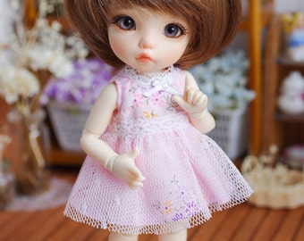 "Lati Yellow/ Puki Fee - ""Dreamy Blossom"" Lace BabyDoll Dress - Pink Color"