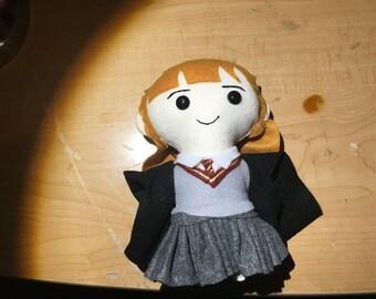 Hermione Granger Felt Doll