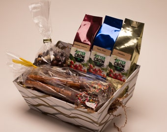 Coffee Star Gift Box.  Coffee Assortment. I Love You Mom, Birthday Gift. Thank you Gift.
