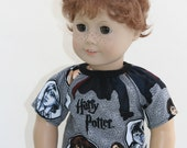Wizard Shirt, Fits American Girl Doll, 18 Inch Doll Clothes, Fits American Boy Doll Clothes, American Doll Clothes