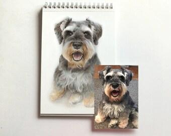Large custom pet portrait. Custom dog portrait. Custom pet painting. Custom pet portrait. Dog painting. Cat painting. Custom art.
