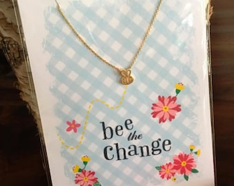 Bee the Change Necklace