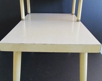 Blonde End Table, Blonde Furniture, Blonde Tables, End Tables, Furniture, Two Tiered Tables, Two Tiered End Tables, Two Tiered Blonde Tables