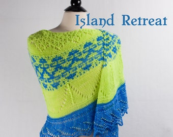 Island Retreat MKAL Yarn Kit with Beads, Stitch Markers and your choice of colors