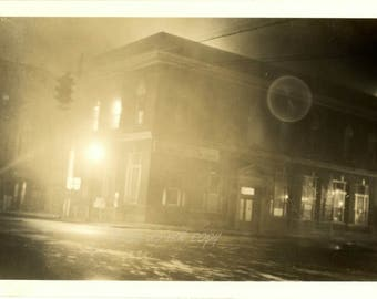 Vintage Photo ~ abstract night photography