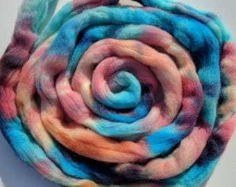 Colombia/Rambouillet combed top roving