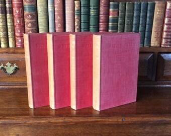 BRITISH BIRDS - 4 Volumes THORBURN
