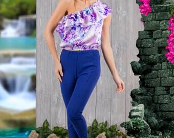 Trousers Skinny - Asymmetric
