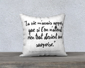 Pillow Case Si la vie...