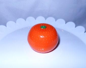Orange Fruit Shaped Lip Balm