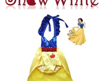 Snow White Inspired Romper / Snow White / First Birthday