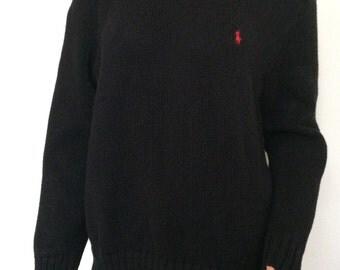 Polo Sweater Black Ralph Lauren