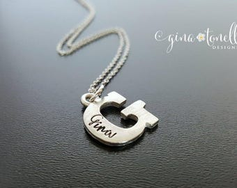 Personalized Name Necklace, Initial Charm Necklace, Initial Necklace, Personalized Necklace, Necklace With Initials, Necklace With Name