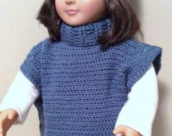 American Girl Tunic Sweater and Hat