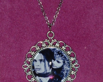 Interview with the Vampire Inspired Silver Cameo Necklace