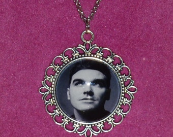 Morrissey / The Smiths Inspired Silver Cameo Necklace