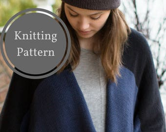 Bow Valley Double Brim Beanie Knitting Pattern   Hat Knitting Pattern   Double Brim Knit Hat Pattern   Fitted Beanie Knitting Pattern