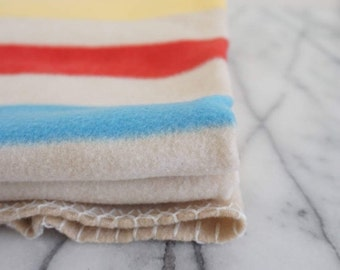 Vintage Blanket - Four Points STYLE Blanket - Baby Blanket / Throw / Beach Towel -  Polyester / Machine-Washable