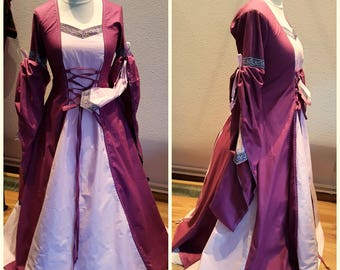 Custom Made Medieval Dress, Gown, Renaissance Fairs, SCA, LARP, Fantasy