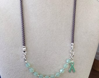 Mental Health Awareness necklace - Wear it two Ways