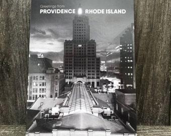 Industrial Trust II Providence Postcard