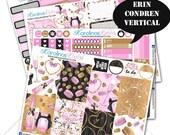 50% OFF Valentines Day Stickers, February Planner Kit 200+ Vday Planner Stickers, for Erin Condren Sticker, Valentine Stickers #SQ00342-ECV