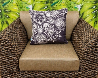 PREMIUM OUTDOOR cushion covers Dazzle Decorative throw cushion for indoors and outdoors - cover only