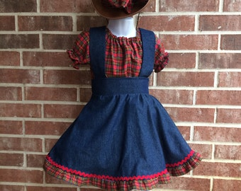 Pageant Cowgirl outfit, Western Rodeo ruffled skirt, rodeo pageant,