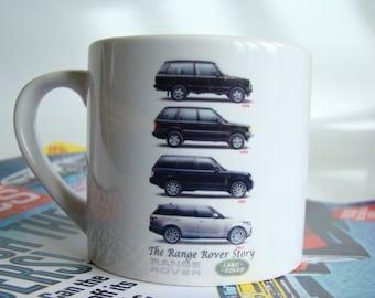Range Rover 11oz Mug, Classic Range Rover Car Cup, Range Rover Gift Idea Christmas Gift Idea