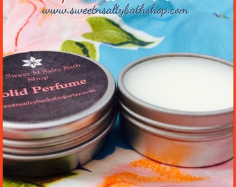 Tropical White Musk Solid Perfume