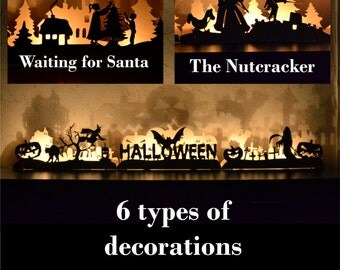 Christmas Decorations Mantle Decorations Christmas ornaments christmas gifts Fireplace Decor Halloween