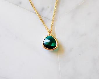 Emerald Crystal Choker