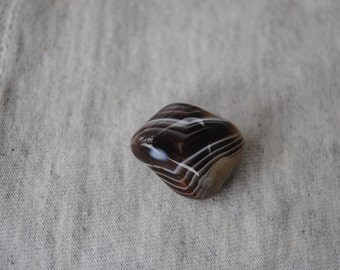 Botswana Agate, Tumbled Stone, Healing Stone