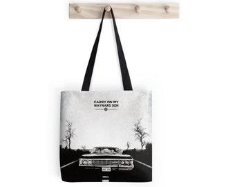 Supernatural Inspired Tote Bag -