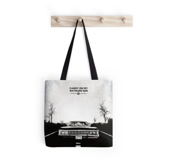 Supernatural Inspired Tote Bag -