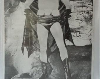 Rare Vintage Adam West 'Batman' B&W Full size poster (not a repo)