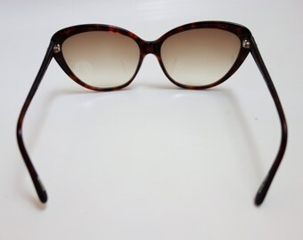Vintage 1960s–70s Jean-Louis Scherrer oversize cateye sunglasses with rhinestone detail HANDMADE rare