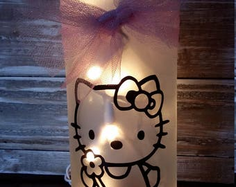 Hello Kitty/gift/Nightlight/Lamp/Bathroom/Bedroom/decoration/Girls Gift