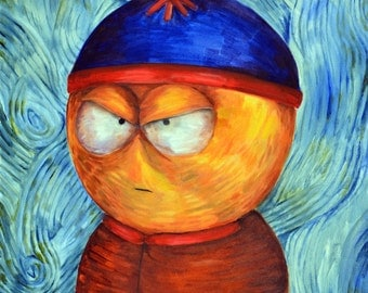Stan Marsh (ART PRINT)