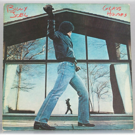 Billy Joel - Glass Houses Album 1980 Original Vintage Vinyl Record