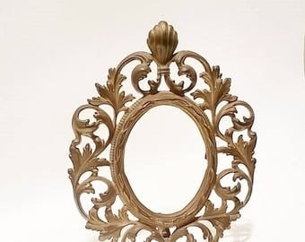 Oval Picture Frame, Gold Picture Frames, Oval Wall Frames, Wedding Frames