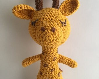 Giraffe, amigurumi giraffe , crochet giraffe,baby deco, giraffe toy, Nursery deco,baby animal