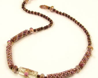 50 OFF Sweet Thing Bead Crochet Necklace Kit by Ann Benson