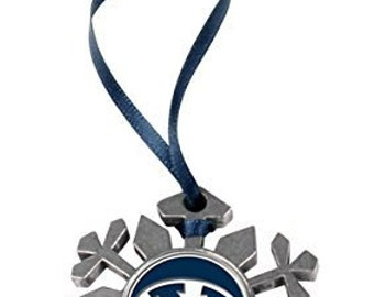 BYU Cougars Snowflake Ornament