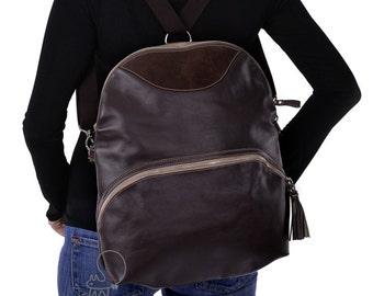 SALE 20% OFF! Women's convertible bag, convertible messenger, women's backpack, crossbody bag, leather shoulder bag , leather backpack, bag